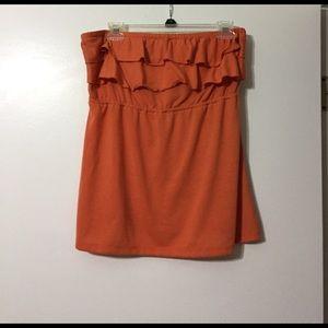 Maurices Tops - Orange halter top