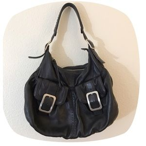 Cole Haan Handbags - •Y2K VTG Minimal Pebbled Leather Purse•