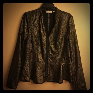 Hinge Tops - Hinge - Metallic Blouse