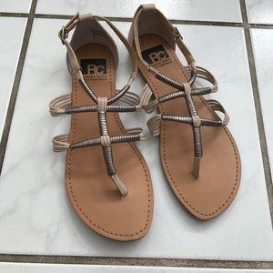 BC gladiator sandals, NEW.