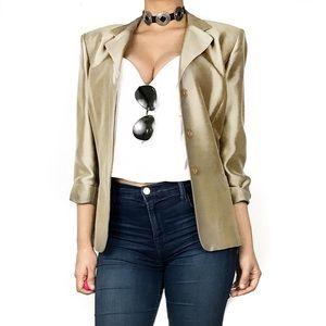 Kay Unger Jackets & Blazers - Kay unger silk blazer