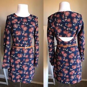 {Zara} Print Dress