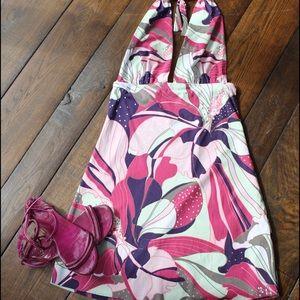 Vix Other - Vix Floral halter cover up.