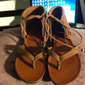 MIA brown Indian inspired sandals!!!New!!