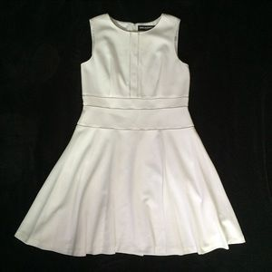 Karl Lagerfeld Dresses & Skirts - Karl Lagerfeld White Fit and Flare Dress