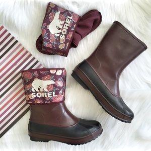Sorel Shoes - Sorel Women's Rainbou Rainboots Sz 40EU
