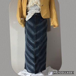 London Blue Dresses & Skirts - 🆕Listing: Stunning Denim Maxi Skirt