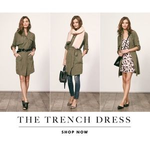 Banana Republic Jackets & Blazers - {Banana Republic} Utility Trench Coat Jacket Dress