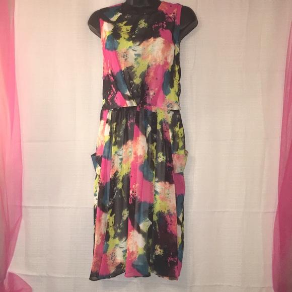 cb0e5b72e63 Cato Fashions Paint Dress 🎆