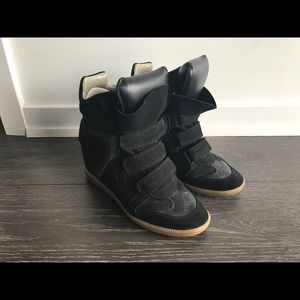 Isabel Marant Shoes - Beckett Sneakers in Black