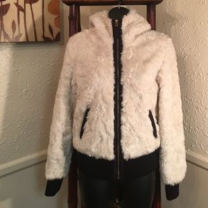 i jeans by Buffalo Jackets & Blazers - FAUX FUR BOMBER BY  I JEANS BUFFALO DAVID BITON