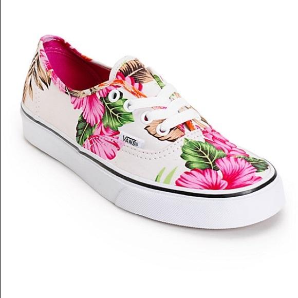 Vans Shoes | Vans Hawaiian Print Nwt