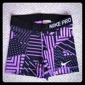 Nike Pants - Nike Pro Patchwork Shorts