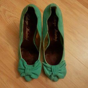 Kathryn Amberleigh Shoes - Suede pump