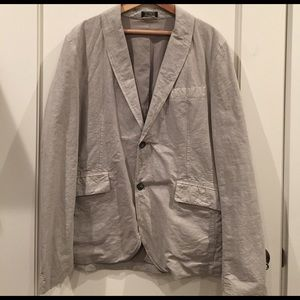 Closed Other - CLOSED Men's Jacket; Size 52; cotton/flax blend