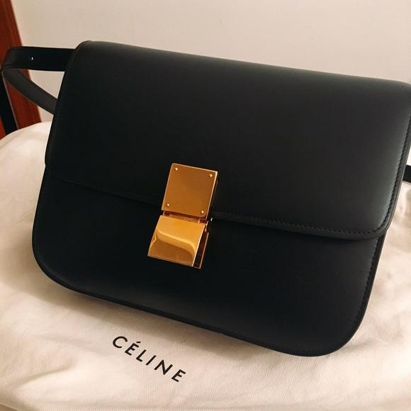eae3f53065 Celine Handbags - 🌟SALE🌟Celine classic black medium box bag