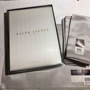 RALPH LAUREN HOME Table Linens Set/12