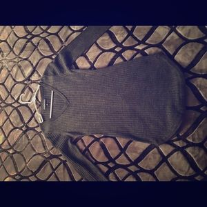 Sweaters - Grey bodycon sweater