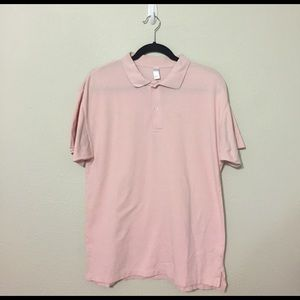 American Apparel Other - Pink American Apparel Polo