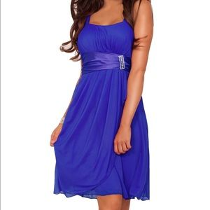 Dresses & Skirts - Purple Cocktail Dance Prom Party Dress Med