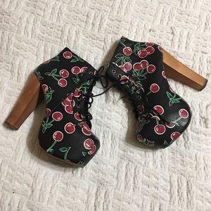 Jeffrey Campbell Shoes - Jeffrey Campbell Cherry Lita Booties