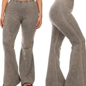 tla2 Pants - MINERAL WASH BELLBOTTOMS!