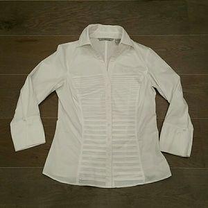 Larry Levine Tops - Larry Levine White Dress Shirt