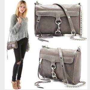 Rebecca Minkoff Handbags - REBECCA MINKOFF MINI MAC GREY