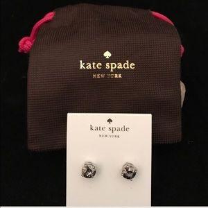 kate spade Jewelry - KATE SPADE STUD EARRINGS NWT SLV/PLAT