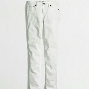 J. Crew Denim - ❤ NWT J. CREW White skinny jean