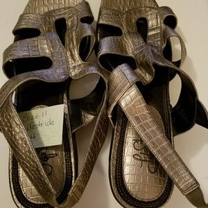 Life Stride Shoes - Lifestride Metallic Sandals