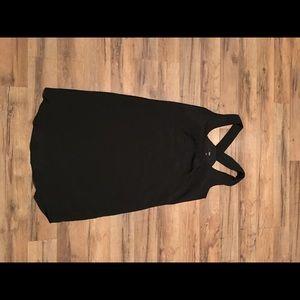 Mossimo Black Racerback Tank Dress