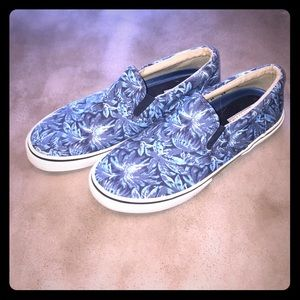 Sperry Top-Sider Other - 😎 Sperry Top Sider Floral Slip On