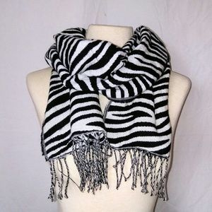 2for1 ZEBRA Winter Scarf