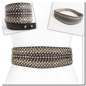 B-Low the Belt Accessories - NWOT B-Low The Belt Studded Waist Belt Large