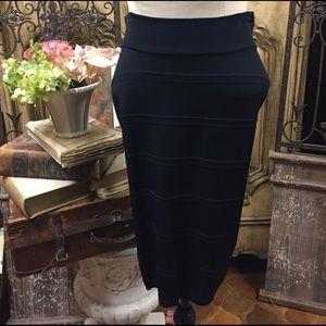 Gerard Darel Dresses & Skirts - Gerard Darel black high waisted pencil skirt.