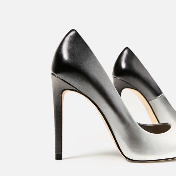 f1c35a55e1e Zara ombre stilettos heels - size 5