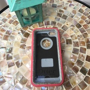 OtterBox Accessories - Otterbox Defender iPhone 5c pink sparklecase