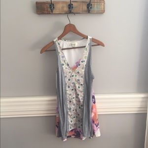 Anthropologie Tops - Anthropologie Floral Tank