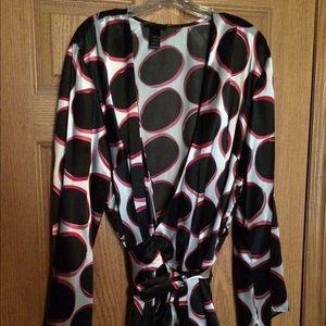 Lane Bryant Tops - Dressy blouse