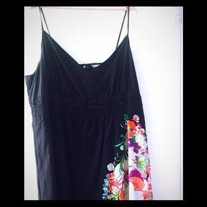 Black/Floral Dress