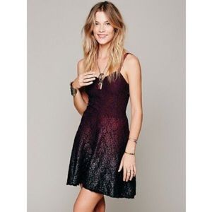 Free People Dresses & Skirts - Free People ombré foil dress