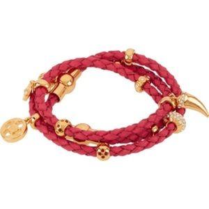 henri bendel Jewelry - Henri Bendel Boho triple wrap charm bracelet
