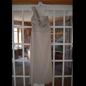 Alvina Valenta Dresses & Skirts - Alvina Valenta Maids Floor Length Champagne Dress