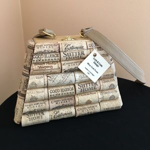 Wine cork purse