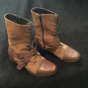 naughty monkey Shoes - Naughty monkey combat style boots, size 9