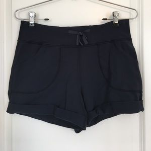 lululemon athletica Pants - 🍋 Lululemon Still Shorty Shorts in Inkwell size 6