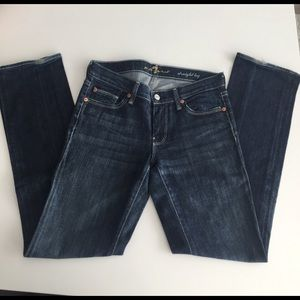 7 for all Mankind - Straight Leg jean - Size 26