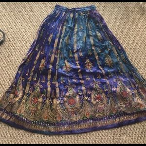 Free People Dresses & Skirts - Draw strong maxi skirt from India
