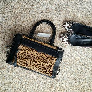 Rebecca Minkoff Handbags - REBECCA MINKOFF calf hair M.A.B. mini